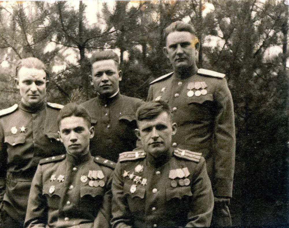 Перед Берл. опер. 1945 н