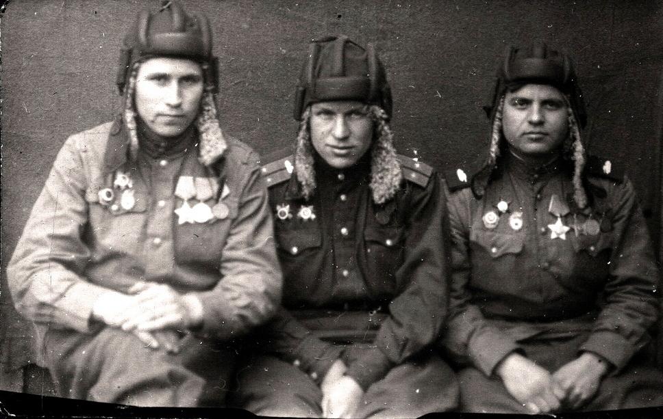 Разведчики полка