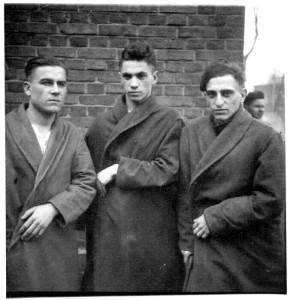Танкисты в госпитале. Польша, февраль 1945 года.