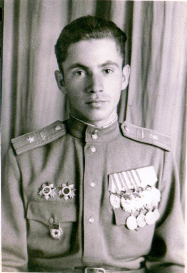 Жаркой июль 1945 года